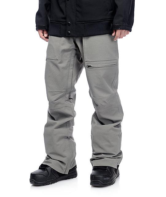 Neff Murdoch Charcoal Snowboard Pants