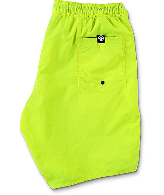 Neff Neon Yellow Nylon 19