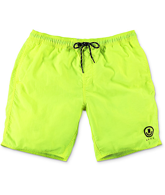 Neff Neon Yellow Nylon 19