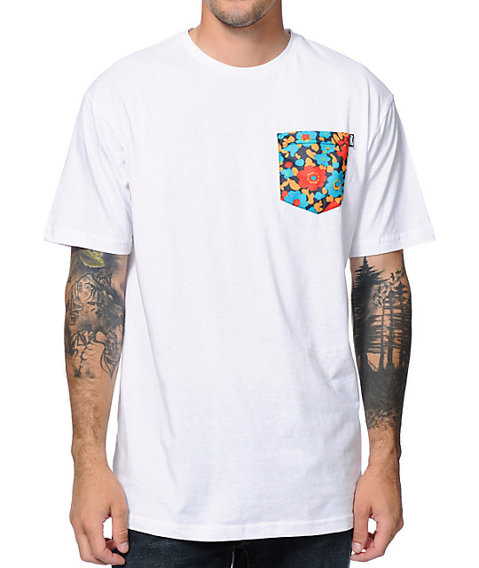Neff Nifty White Pocket T-Shirt