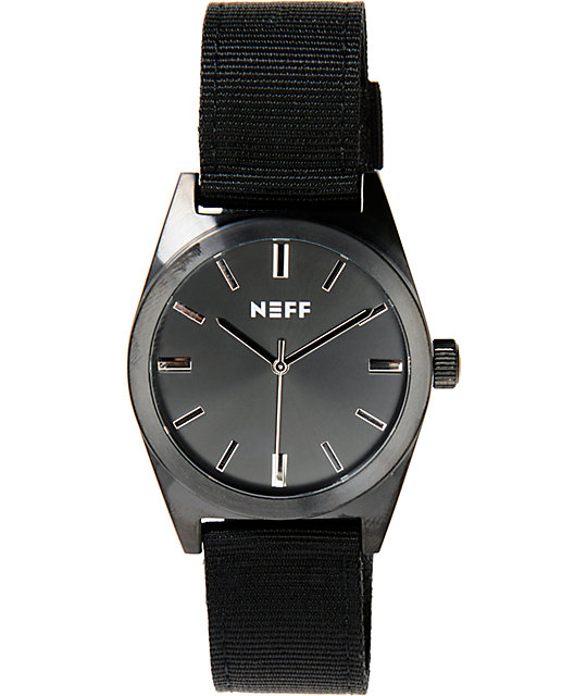 Neff Nightly Black Analog Watch