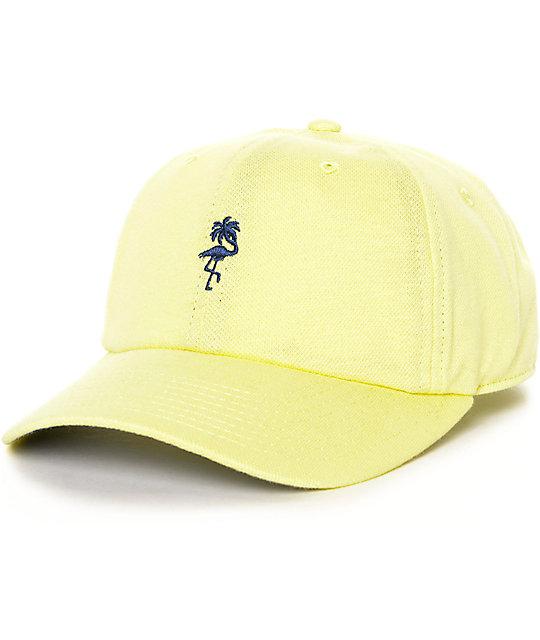 Neff Palm Breeze 6 Panel Yellow Hat