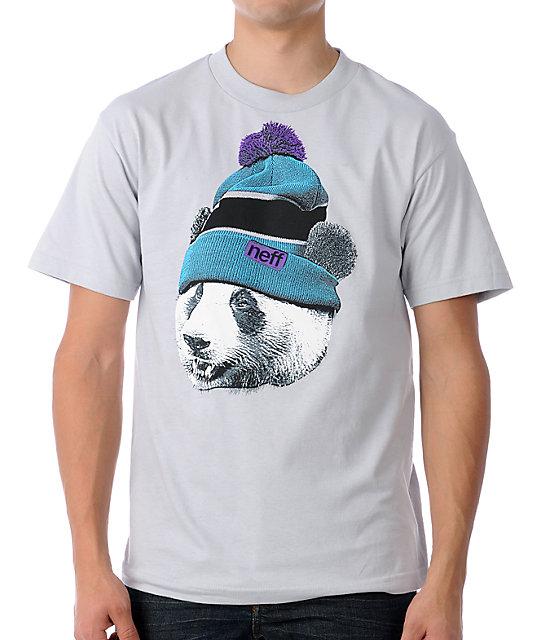 Neff Pandeezy Grey T-Shirt