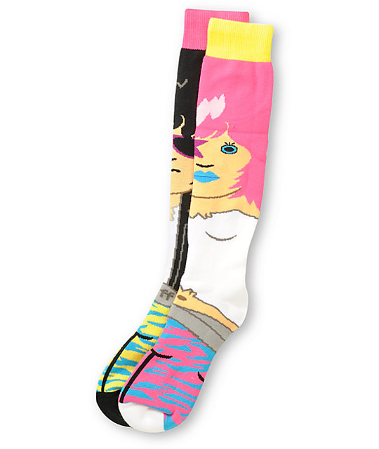 Neff Rock Black Snowboard Socks