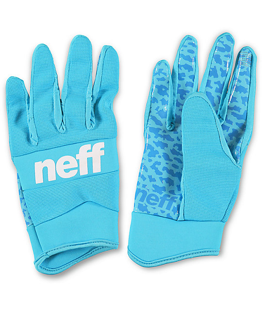 Neff Rover Blue Pipe Snowboard Gloves