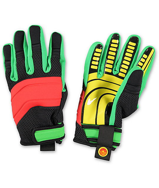 Neff Rover Rasta Pipe Snowboard Gloves