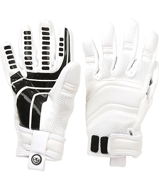 Neff Rover White Pipe Snowboard Gloves