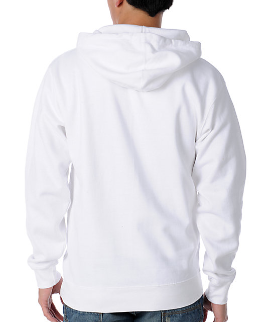 Neff So Clean White Pullover Hoodie