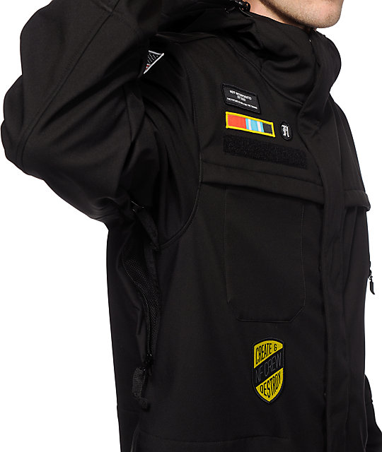 Neff Special Ops 10K Softshell Snowboard Jacket