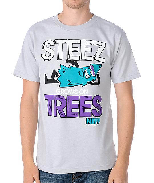 Neff St-shirtz Silver T-Shirt