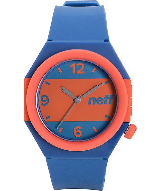 Neff Stripe Blue & Red Watch