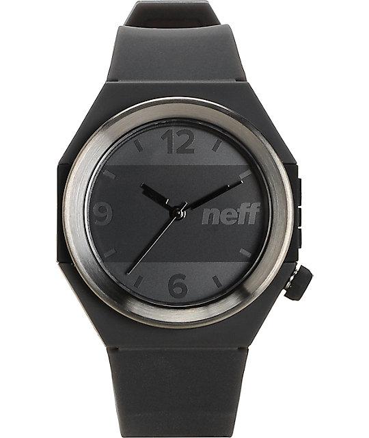 Neff Stripe Gunmetal & Black Watch