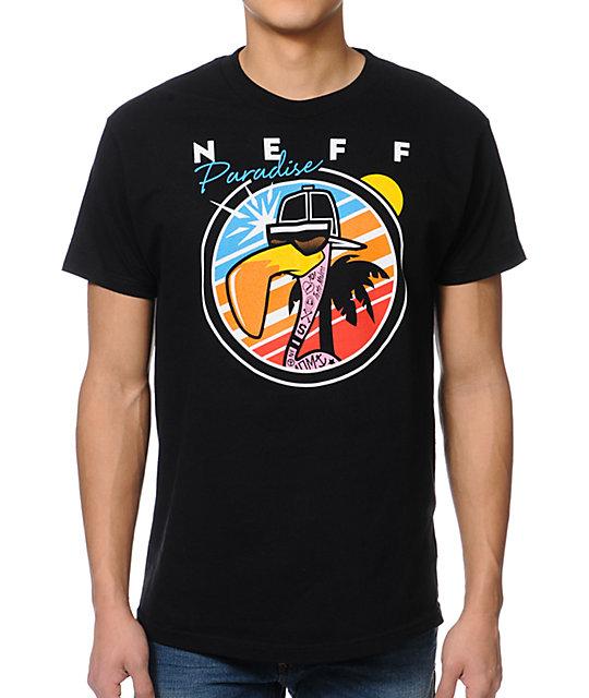 Neff Sunbird Black T-Shirt