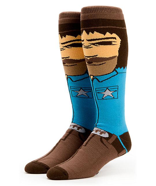 Neff Tex Cowboy Snowboard Sock