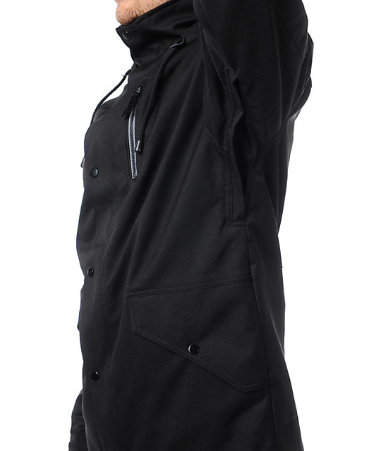 Neff The Kon Black 10k Snowboard Jacket
