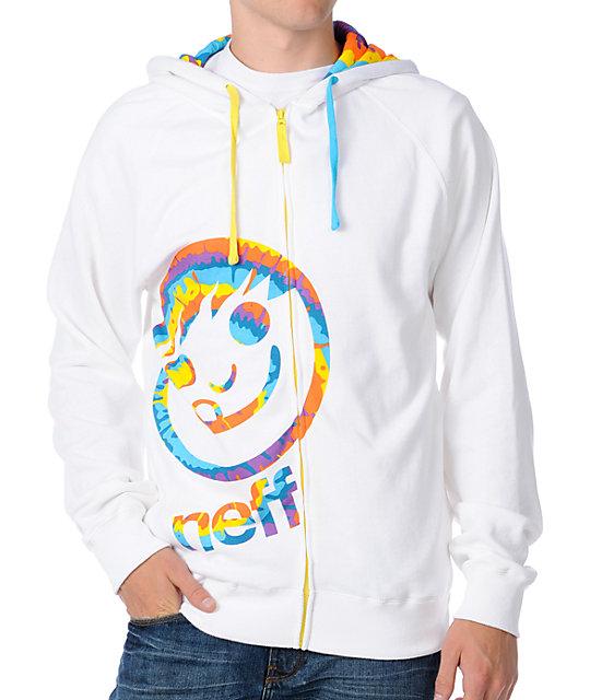 Neff zip up hoodies