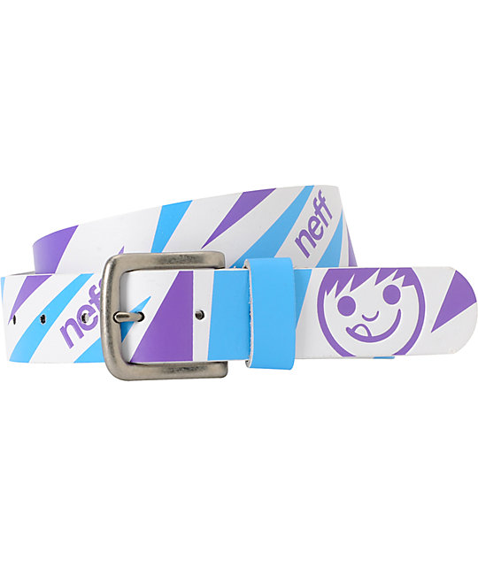 Neff Topsy White Belt