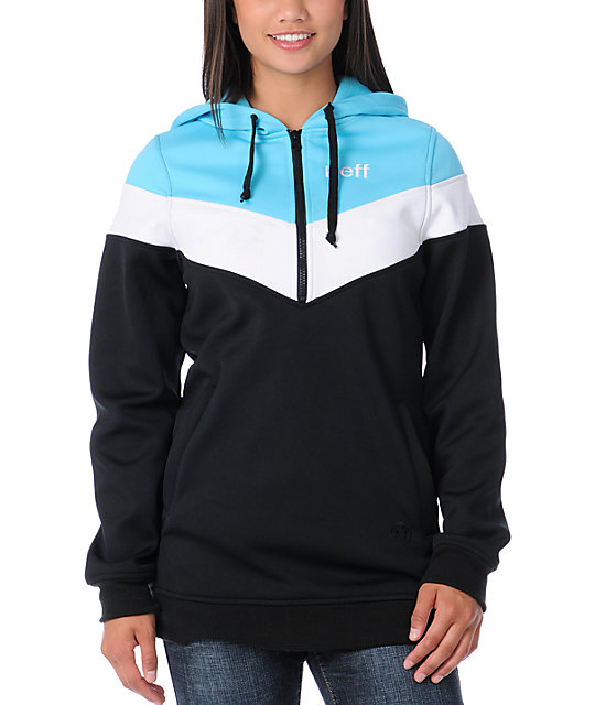 Neff Triad Black Tech Fleece Jacket
