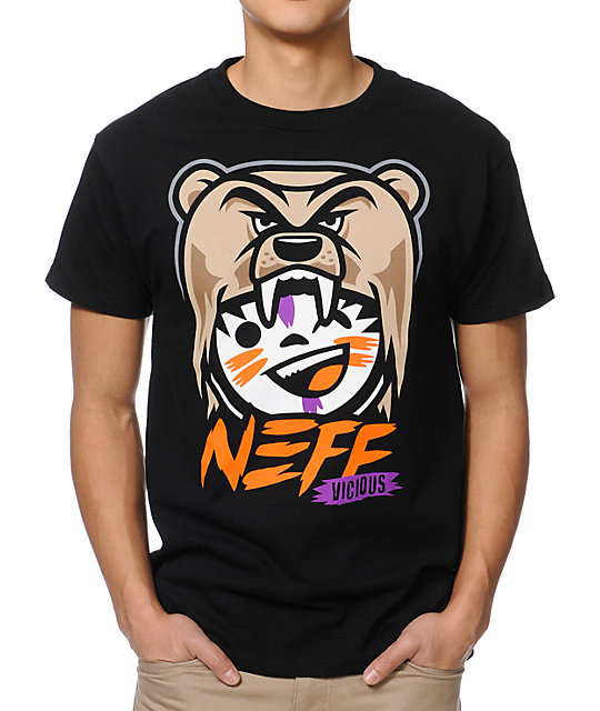 Neff Vicious Black T-Shirt