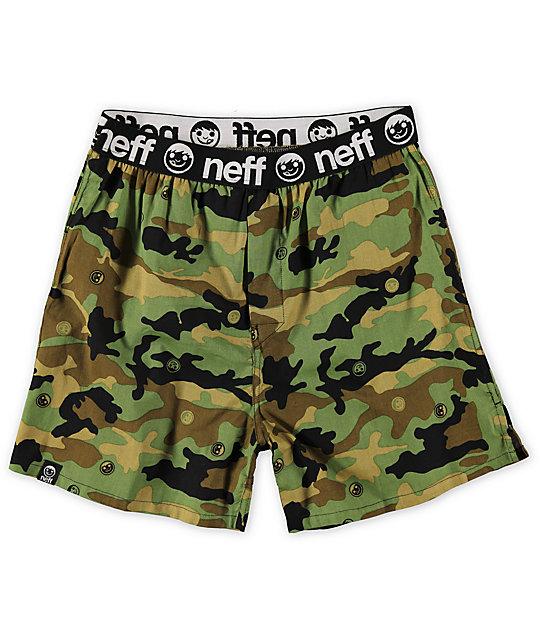 Neff Wambo Rambo Camo Boxers