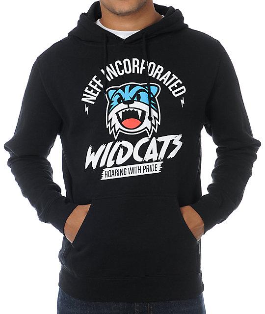 Neff Wildcats Black Pullover Hoodie