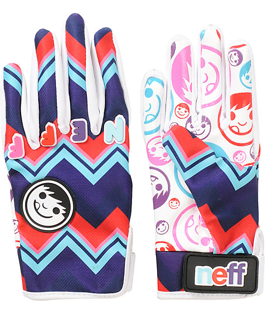 Neff Womens Pipe Ziggy Snowboard Gloves