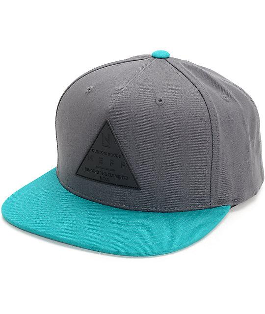 Neff X Cap Dark Teal Snapback Hat