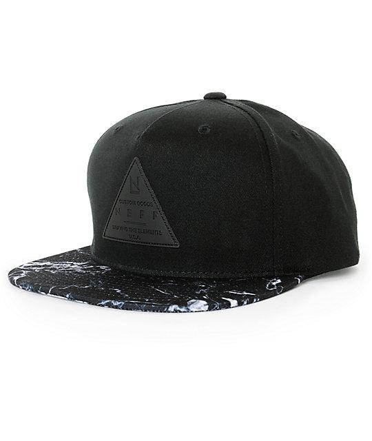 Neff X Cap Marble Snapback Hat