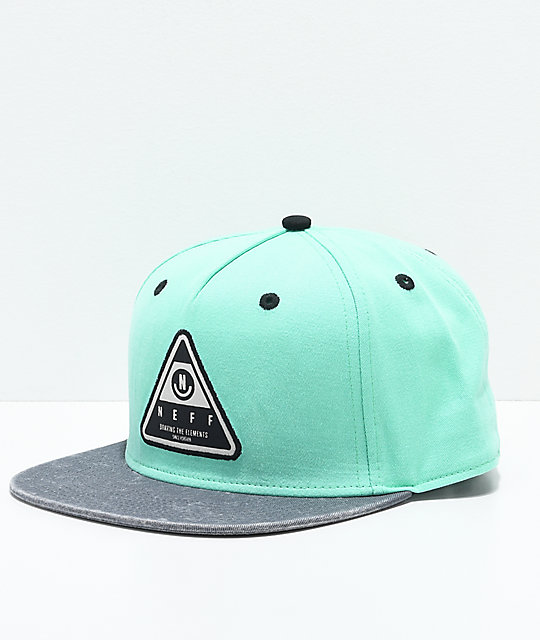 Neff X Wash Teal Snapback Hat