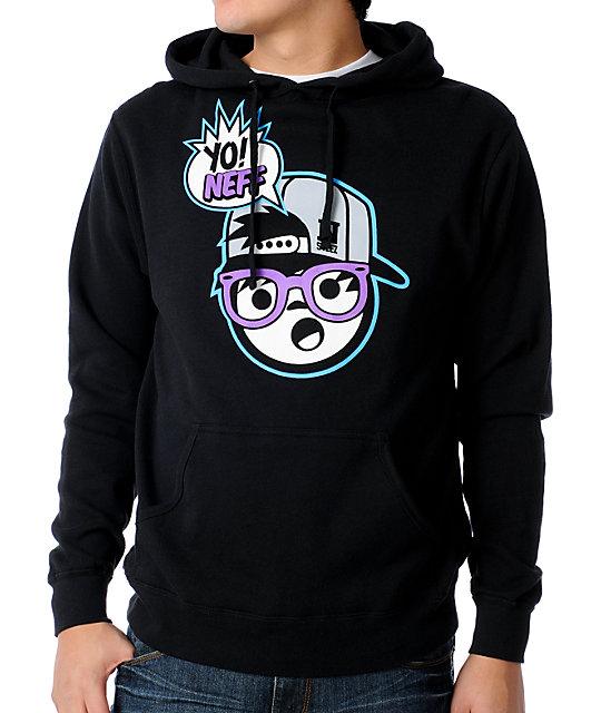 Neff Yo Neff Black Pullover Hoodie