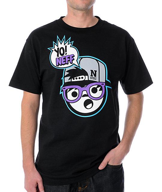 Neff Yo Neff Black T-Shirt