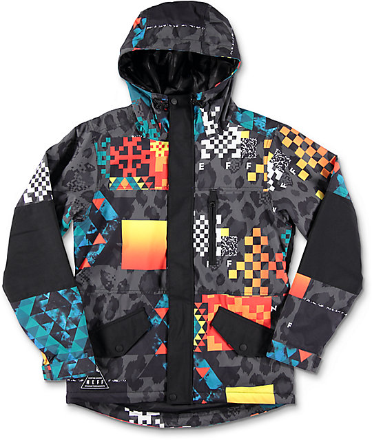 Neff Youth Daily Psych safari Snowboard Jacket