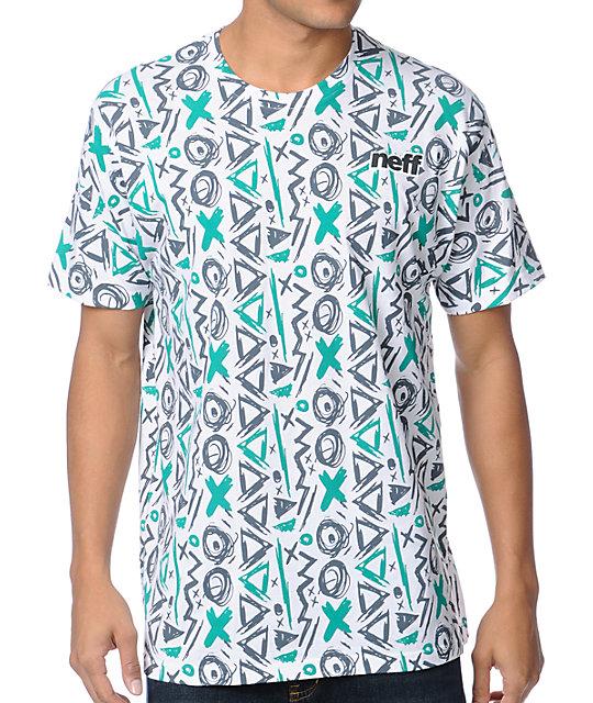 Neff Zeste Alp White T-Shirt