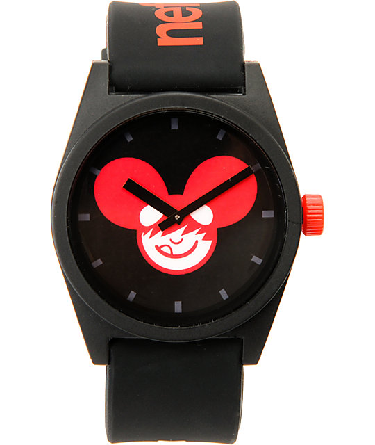 Neff x Deadmau5 Daily Black Watch