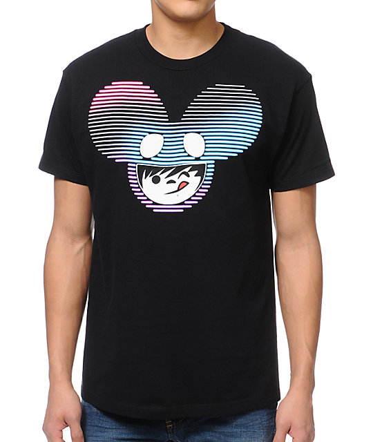 Neff x Deadmau5 Neffmau5 Nightlight Radder Black T-Shirt