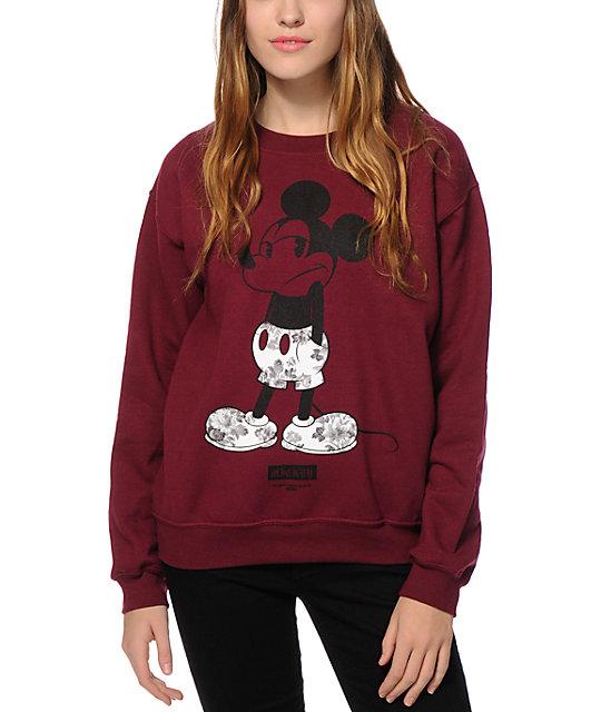 x Disney Mickey Shrug Life Crew Neck Sweatshirt