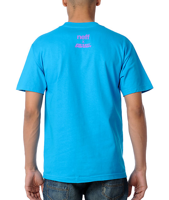Neff x Far East Movement Like A G6 Turquoise T-Shirt