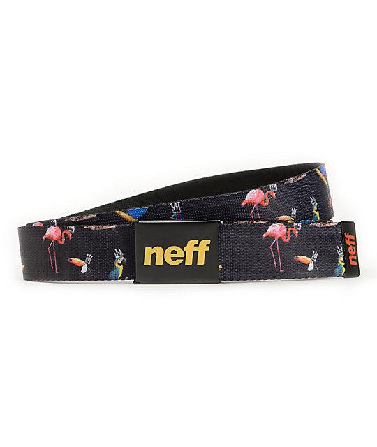 Neff x Mac Miller Collaboration Bird King Print Belt