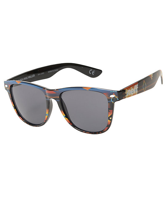 Neff x Mac Miller Daily Aztec Sunglasses