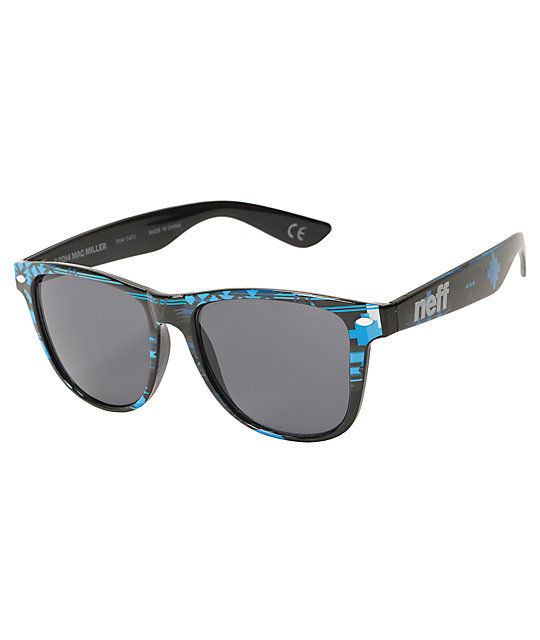 Neff x Mac Miller Daily Blue Aztec Sunglasses