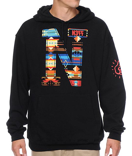 Neff x Mac Miller Monotor Black Pullover Hoodie