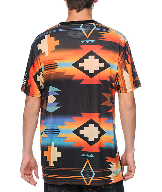 Neff x Mac Miller Tribal Print Sublimated T-Shirt