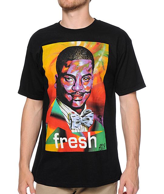 Neff x Mad St-shirtze Weenlton Black T-Shirt