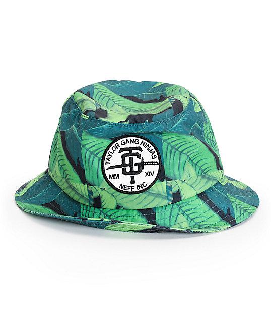 Neff x Taylor Gang TG Ninja Bucket Hat