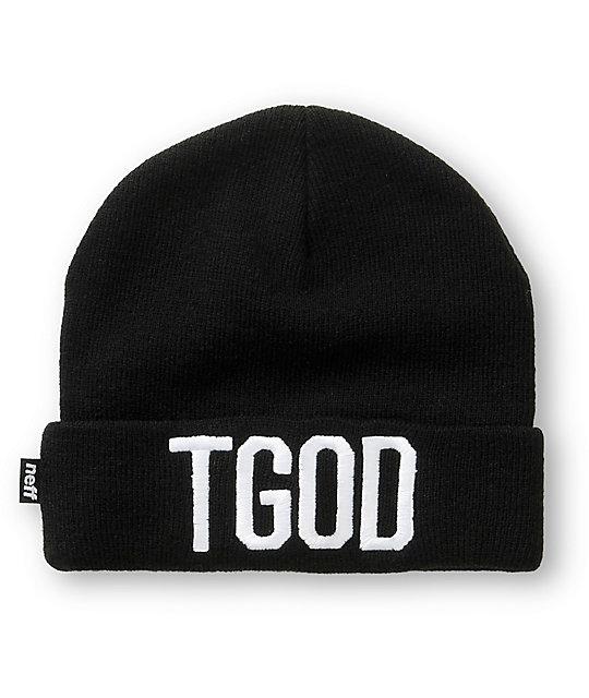 Neff x Taylor Gang TGOD Cuff Beanie