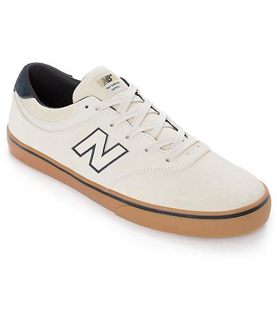new balance skate shoes. new balance numeric 254 quincy cloud white \u0026 gum shoes skate n