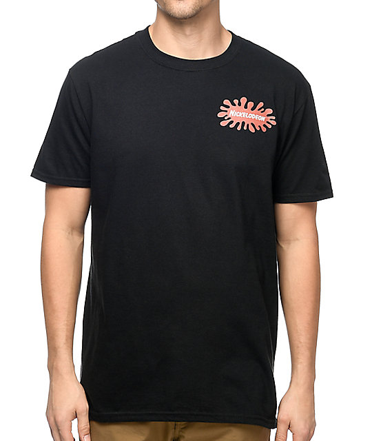 Nickelodeon Nick Toon Squad Black T-Shirt