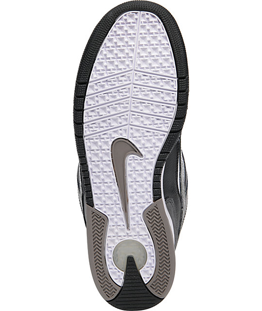 Nike 6.0 Air Zoom Oncore Black, Grey, & White Shoes