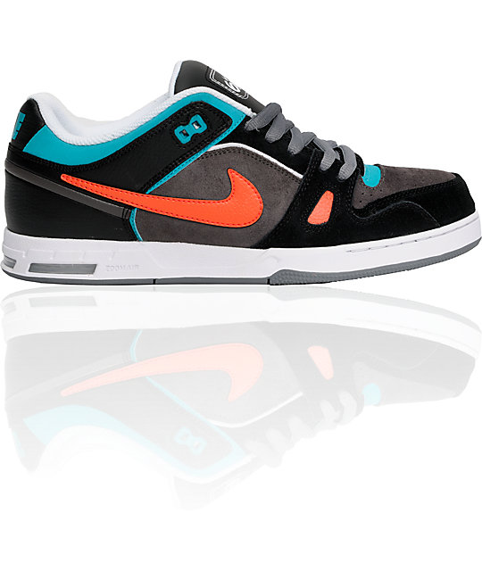 Nike 6.0 Air Zoom Oncore Fog, Crimson & Black Shoes