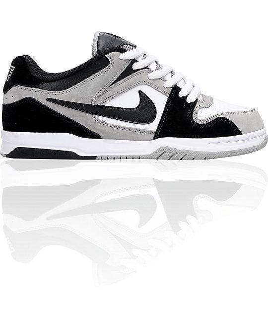 Nike 6.0 Air Zoom Oncore Medium Grey, Black & White Shoes
